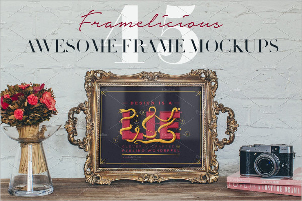 45 Awesome Frame Mockups