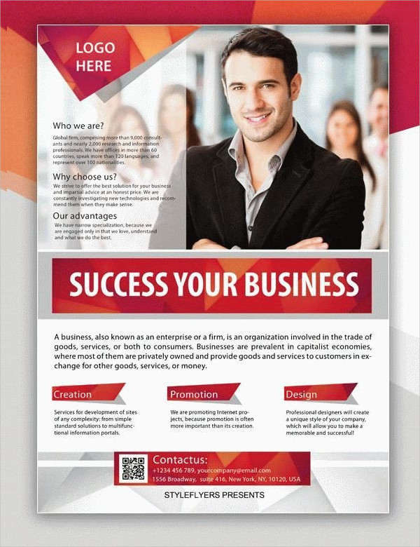 Business Creative Flyer Template