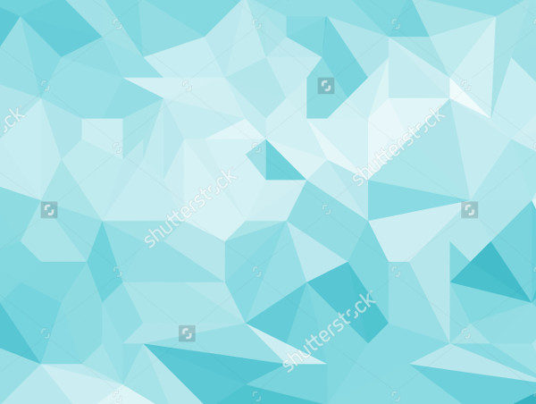 Blue Light Geometric Background Texture