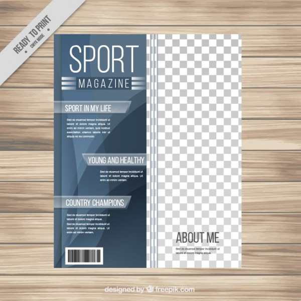 Free Abstract Magazine about Sport