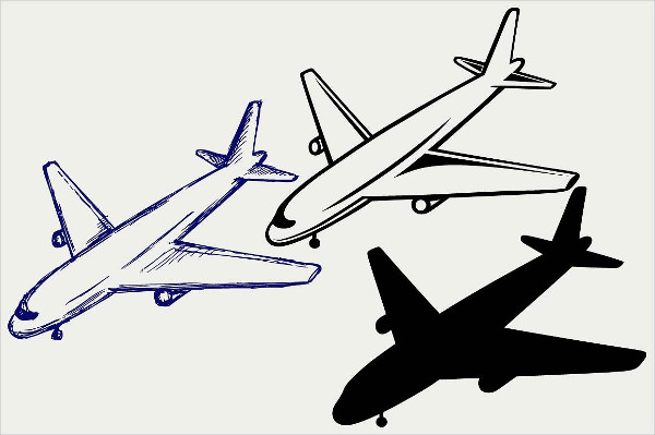 Amazing Airplane Drawings