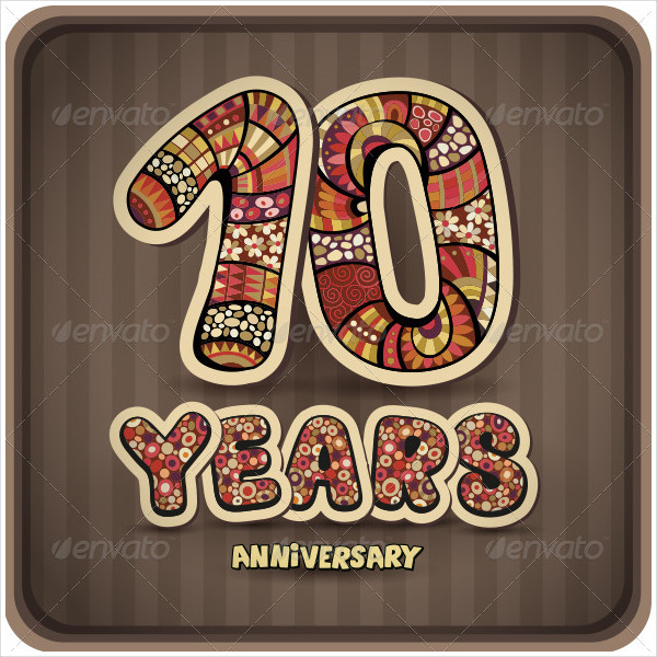 Anniversary Card Templates  Free Psd Ai Eps Format Download