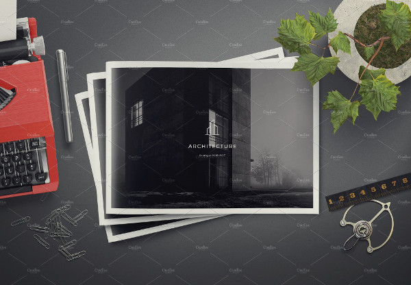 Architecture Landscape Brochure Template