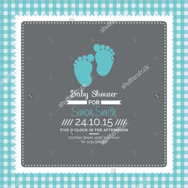 Colorful Baby Shower Gift Cards