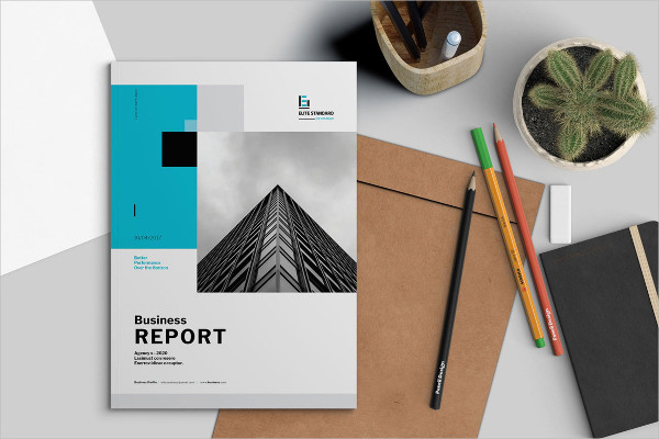 Attractive Business Report Template