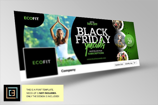 Black Friday Facebook Cover Template