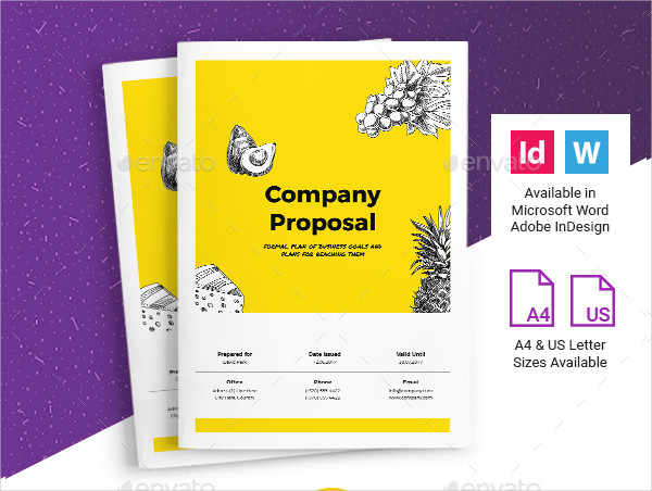 Business Agency Proposal Template