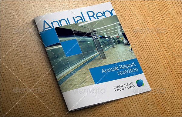 Bright Business Annual Report Template