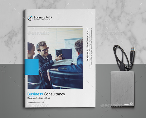 Business Consultancy Brochure Template