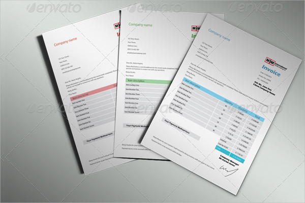 Simple Business Invoice Templates