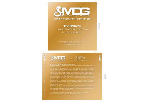CD or DVD Label Template Free Download