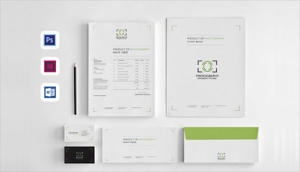 Clean and Minimal Corporate Identity