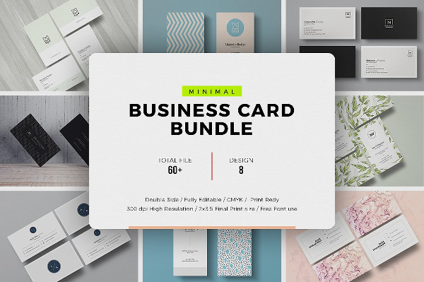 Clean Visiting Cards Bundle