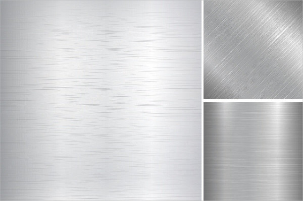 Collection of Brushed Metal Textures