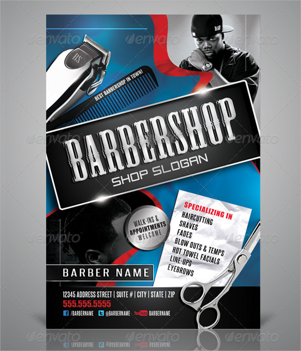 23+ Barbershop Flyer Templates - Free & Premium Download