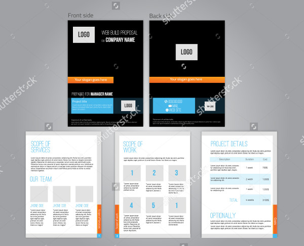 Commercial Proposal Design Template