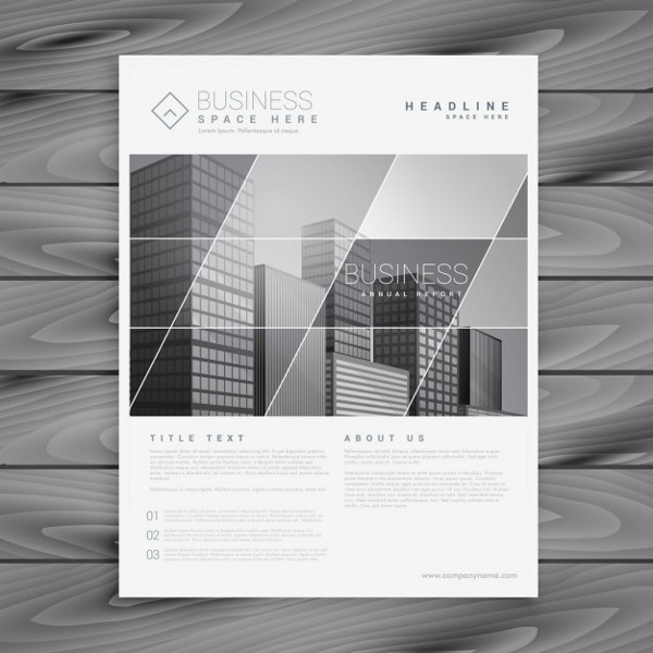 Company Brochure in a Stylish Design Free