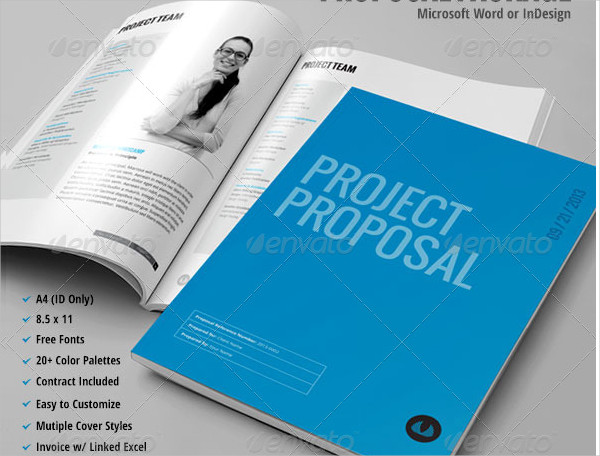 Project Proposal Invoice Template