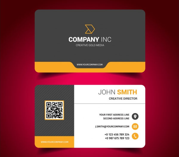 Free Download Corporate Business Card Design