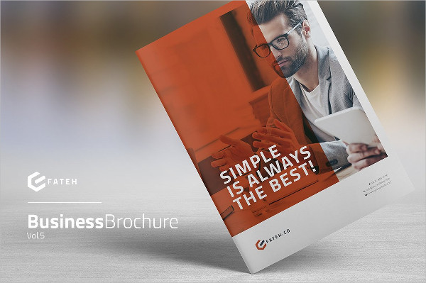 Creative Brochure Template for Business