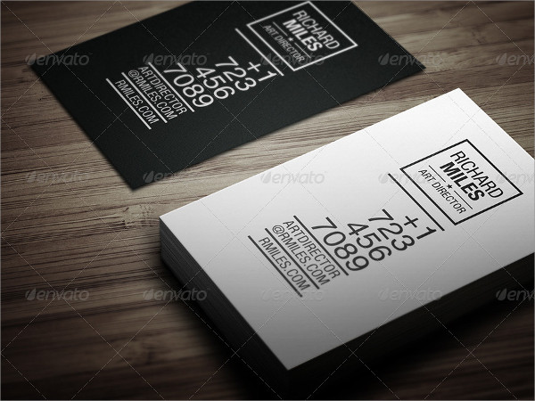 Simple Elegant Business Card Design