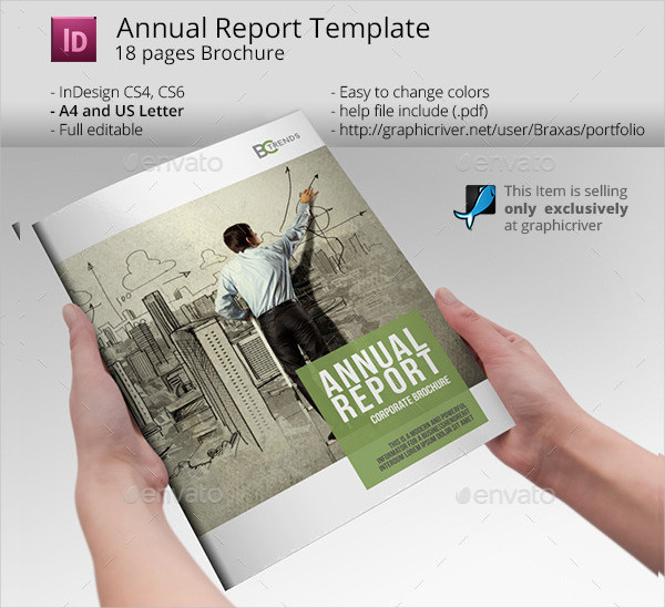 Business Solutions Annual Report Template