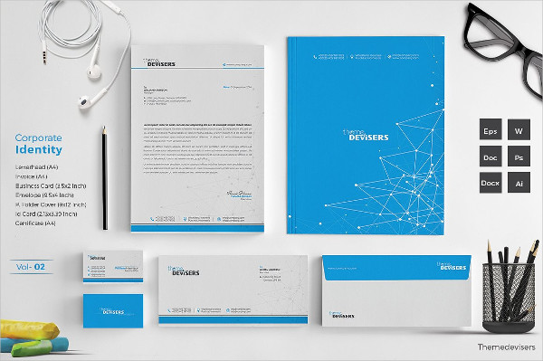 Elegant Corporate Identity Template