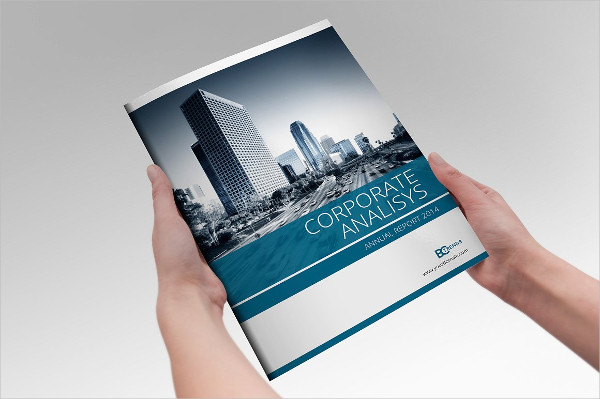 Professional Annual Report InDesign Template