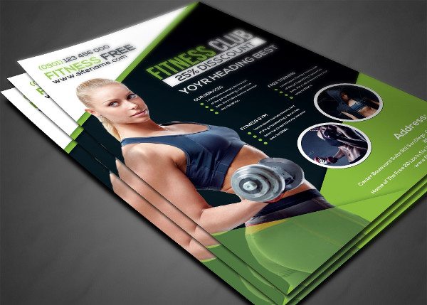 Fitness Business Flyers