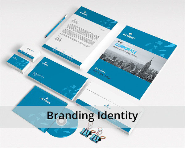 Attractive Corporate Identity and Branding