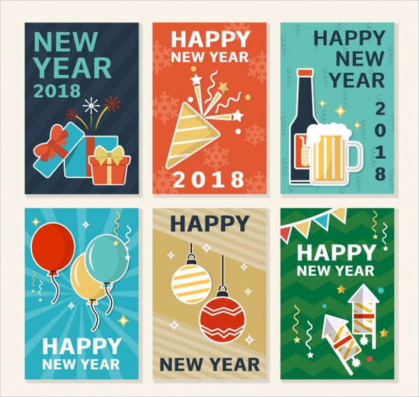 Free Collection Holiday Postcard Templates