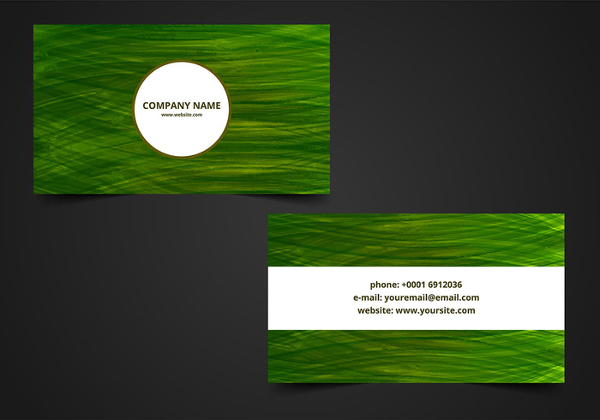 Free Vector Visiting Card