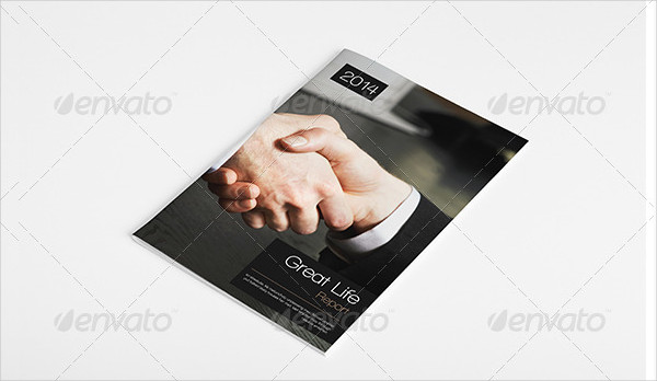 Elegant Business Annual Report or Brochure Template