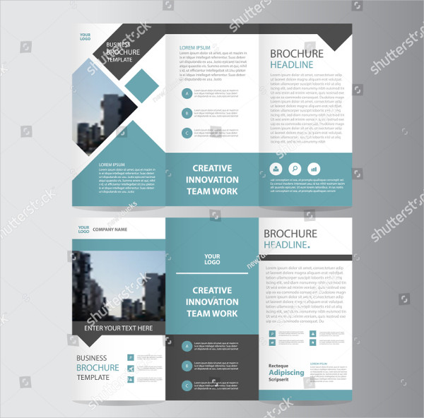 Geometric Vector Business Brochure Design