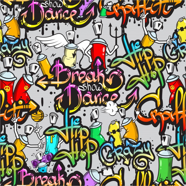 Hip Hop Graffiti Backgrounds Free