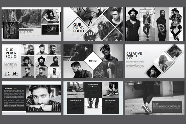 Hipster Business Powerpoint Template