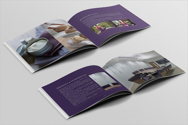 Hotel Business Brochure Template
