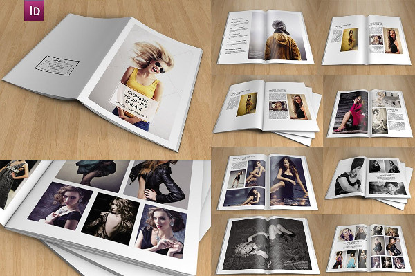 InDesign Photography Brochure Template