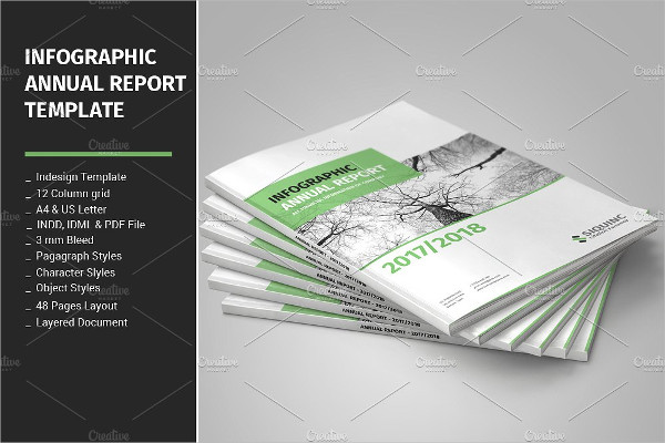 Infographic Annual Report Template