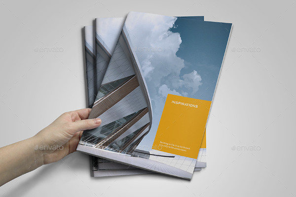 Modern Business Project Brochure Template