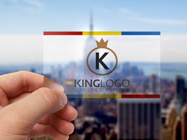 Attractive King Logo Template
