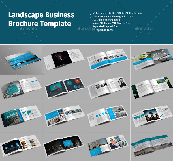 Landscape Brochure Templates Bundle