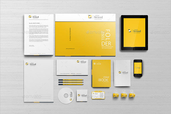 Showcase Corporate Branding Identity Mockups