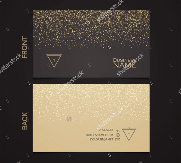 Elegant Template Luxury Business Card