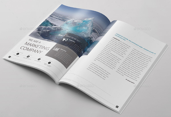 Corporate Magazine Brochure Design