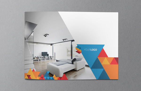 Modern Geometric Brochure Template