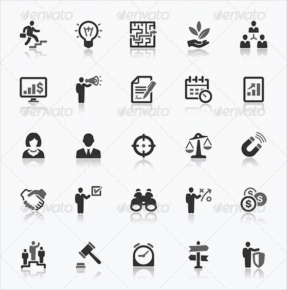 Fully Editable Business Icon Pack