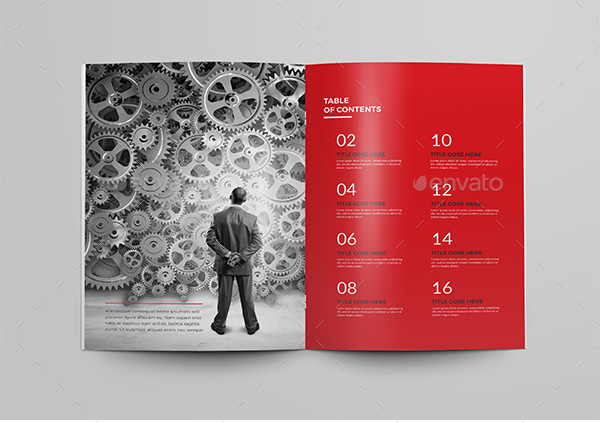 Company InDesign Brochure Template