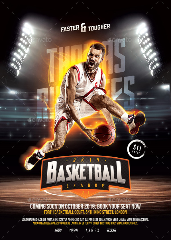 31 Basketball Flyer Templates Free Premium Download
