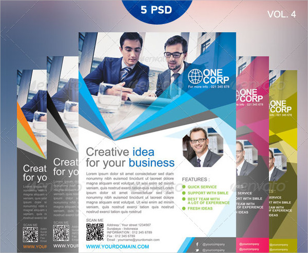 Modern Flyer Template for Business